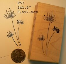 Abstract Dandelions rubber stamp P57