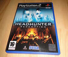 PS2 GAME: HEADHUNTER REDEMPTION 'PAL UK'