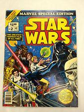 70's STAR WARS #2 Marvel Special Edition Oversize Comic Book ~ Darth Vader