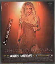 TAIWAN SLIPCOVER 2-CD Britney Spears: Glory - Japan Tour Edition (2017) SEALED
