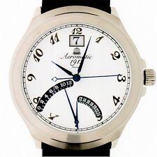 RETROGRADE GMT (2.Zeitzone) Classic-Design Unisex A1245