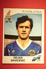 Panini EURO 92 N. 80 JUGOSLAVIJA SAVICEVIC NEW WITH BLACK BACK TOP MINT!!