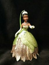 Disney Tiana from Princess and the Frog Christmas Ornament gold green dress