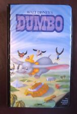 DUMBO~VHS #024~WALT DISNEY~BLACK DIAMOND COLLECTION~BLACK With PINK CLAMSHELL