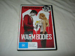 Warm Bodies - Nicholas Hoult - VGC - DVD - R4