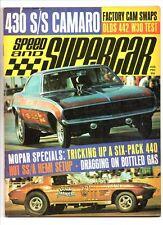 Speed & supercar aug 1970 olds 442-dick harrell camaro-mopar-mustang & maverick