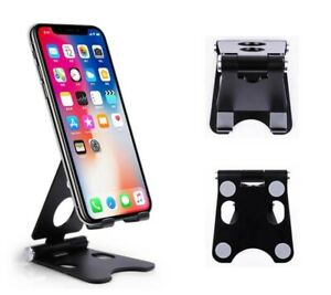 Adjustable Cell Phone AluminumStand - Desk Phone Holder, Portable Small Size