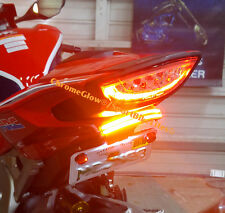 Honda CBR1000RR (2017+) SS Red LED Light Bar Fender Eliminator; Smoke Lens