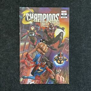 CHAMPIONS OUTLAWED #1 MICO SUAYAN EXCLUSIVE VARIANT TRADE DRESS LTD 3,000