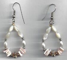 Coral Earrings Coral Beads Drop Dangle Earrings