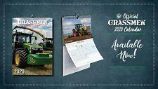Grassmen Official Calendar 2020 - On Sale Now!