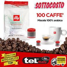 100 Caffè Illy Capsula ROSSA Iperespresso per uso professionale