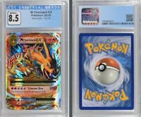 Pokemon XY Evolutions 2016 New Fresh Mega Charizard EX 13/108 CGC 8.5