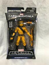 Marvel Legends SOLDIERS OF A.I.M. MANDROID BAF CAPTAIN AMERICA