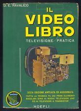 D.E.Ravalico Il video libro televisione pratica Hoepli 1964  R