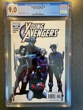 YOUNG AVENGERS No.6 2005 CGC 9.0 1ST APPEARANCE CASSIE LANG AS STATUE MARVEL