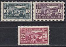 Libanon Lebanon 1939 ** Mi.250/52 Freimarken Definitives