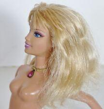 NUDE BARBIE 2005 11 Inches Blonde Hair Blue Eyes Straight Leg Doll