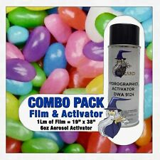 hydrographic film / activator Jelly Beans hydro dip dipping wizard