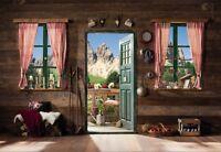 Taille Géante Photo Murale Papiers Peints Montagnes - Dolomites Italie