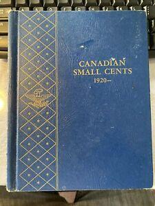 1920-68 CANADA One Cent 48 Different Dates & Whitman Album 1923, 1924 & 1926