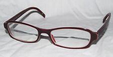 RALPH LAUREN WOMENS EYEGLASS FRAMES 130 5RL 1406 FR8 MADE ITALY Rx RED