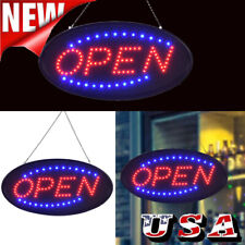 Led Ultra Bright Neon Light Animated Motion with On/Off Store Open Business Sign
