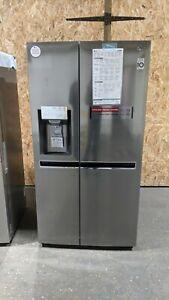 LG GSL961PZJV American-Style Fridge Freezer - Shiny Steel - Ice & Water - #65