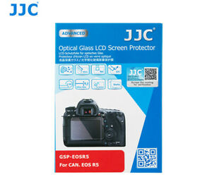 JJC Optical Tempered Glass LCD Screen Protector Guard Film for Canon EOS R5