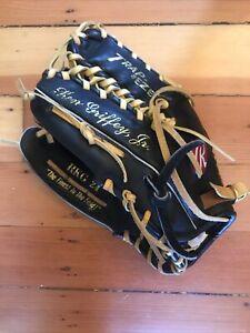 Rawlings Ken Griffey Jr RKG 24 Baseball Glove Black Leather Left Hand Thrower