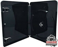 New PlayStation 3 PS3 Black Replacement Video Game Case Box Free Shipping