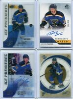 2015-16  UD Ice & SPA , Colton Parayko Lot of 4 cards , Ice Rc -FWA/999 -++ LOOK