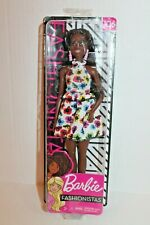 NEW Original Body Type with Floral Dress Barbie Fashionistas Doll #106 AA