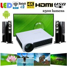 Multimedia HD 3D LED Home Cinema Projector for Android Bluetooth WF