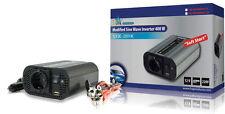 Spannungswandler / Wechselrichter Modifizierte Sinuswelle 400 W 12 V + USB