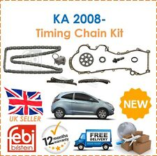 For Ford Ford KA RU8 1.3TDCi 2008- Febi Bilstein Timing Chain Kit 120 Chain Link