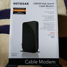 NETGEAR CM500 Cable modem (CM500100NAS) 680 Mbps - Black