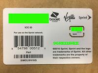 Sprint Sim card SIMOLW416Q Galaxy S8, S8+