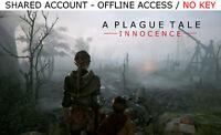 A Plague Tale: Innocence PC +16 BONUS GAMES Steam OFFLINE - READ DESCRIPTION