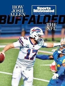 Josh Allen Buffalo Bills Sports Illustrated cover photo - select size