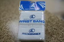 Prokennex Racquetball Wristband White / Blue, One Pair