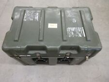 """HARDIGG MILITARY GREEN STORAGE CASE PLASTIC RV CAMPING CONTAINER 30"""" 18"""" 17"""" I.D"""