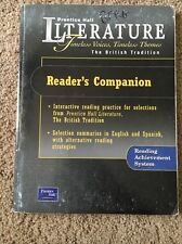 Literature The British Tradition Prentice Hall Readers Companion ISBN 0130623830
