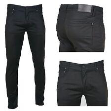 KDNK Men's Premium Slim Fit Stretch Twill Denim Jeans Pants
