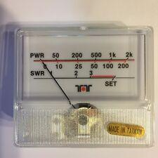 New Original Ten-Tec 2KW Antenna Tuner Replacement  Power/SWR Meter