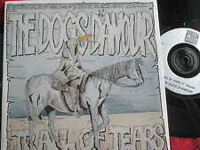 """THE DOGS D'AMOUR – Trail of Tears China Records China 20 UK Vinyle 7"""" 45 UNIQUE"""
