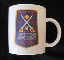 BSA 1998 Scouts Muster Ceramic Mug Galena Il US Grant Pilgrimage RARE