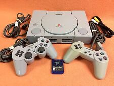 Sony PlayStation Play Station 1 PS1 PSOne System Console Controller Bundle!