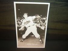 1951 Cleveland Indians Mike Garcia Glossy Postcard