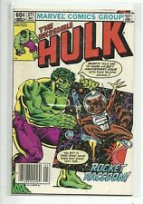 (1962-1999 SERIES) MARVEL THE INCREDIBLE HULK #271 2ND APP ROCKET RACCOON - FN